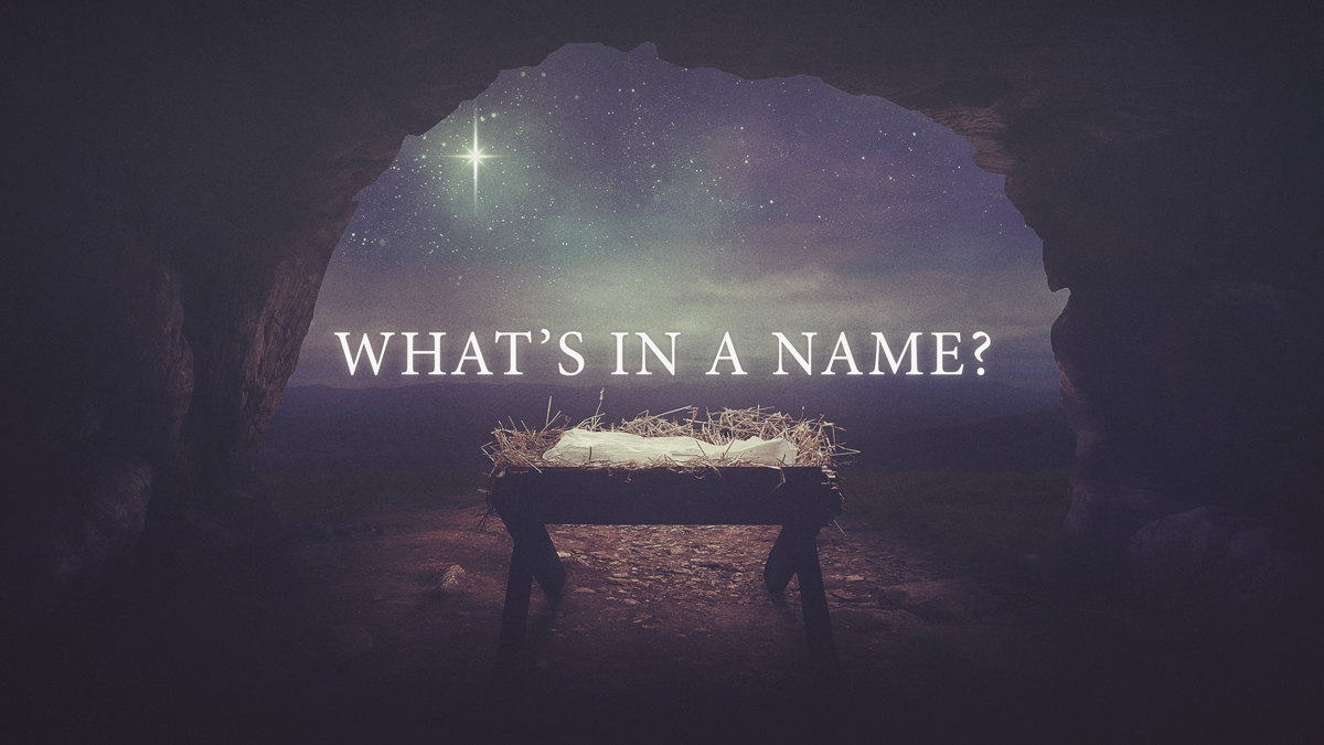 What's in a Name? - Part 1 - CC